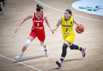 Grupă dificlă pentru naționala feminină a României în calificările pentru EuroBasket 2023