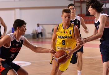 România, fără victorie în cadrul FIBA U16 European Challenger