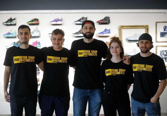 Cum arată primul magazin din România dedicat exclusiv baschetului. Galerie Foto