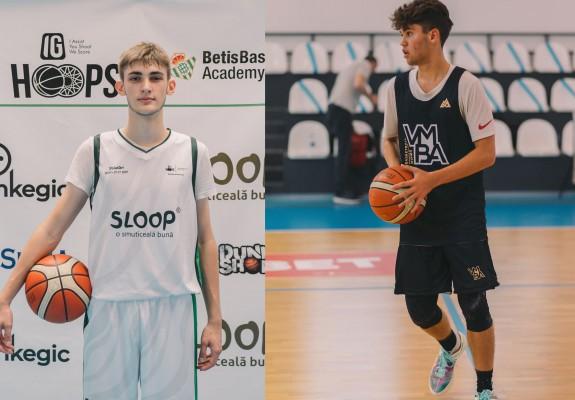 Vlad Stoiculescu și Dragoș Mănescu vor evolua pentru Real Betis Baloncesto