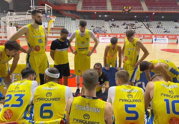 BC CSU Sibiu câștigă al doilea amical disputat în Spania