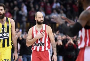 Fanii lui Olympiacos au făcut spectacol în fața casei lui Spanoulis. Video