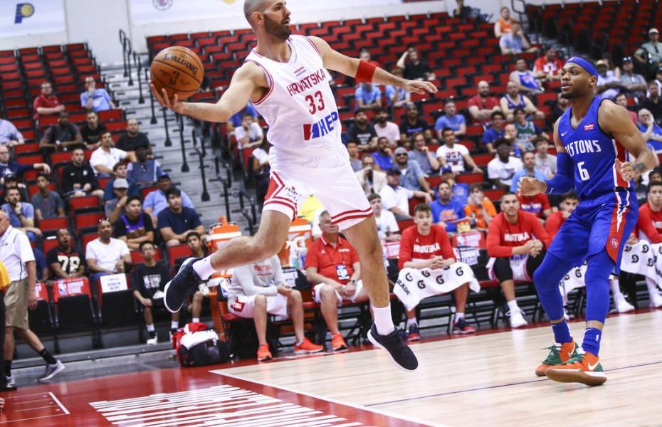 Zeljko Sakic este prezent cu o selecționată a Croației în NBA Summer League