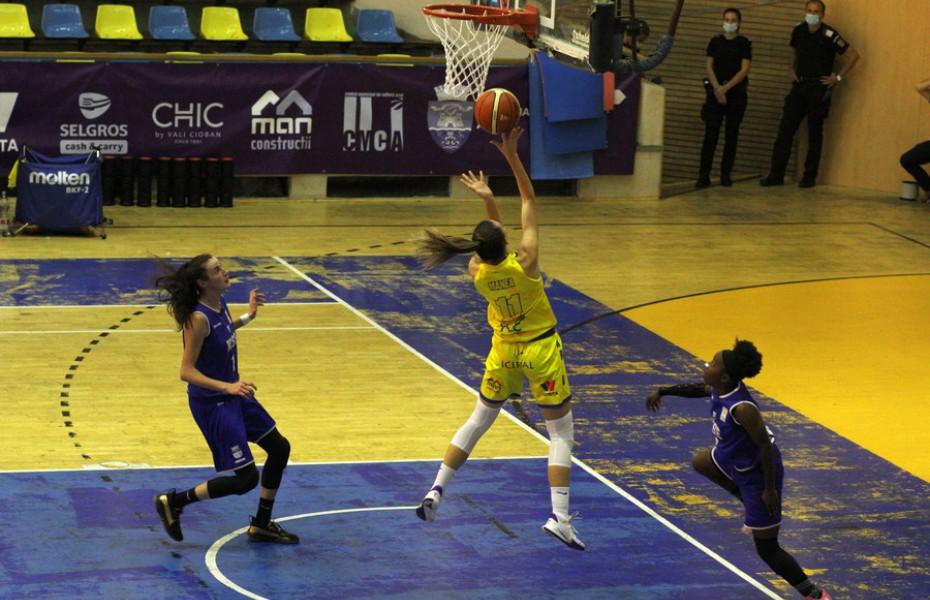 Rezultate Cupa României la baschet feminin Turul I