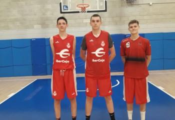 Mihai Cârcoană și Marian Schmidt au efectuat un try-out la Basket Zaragoza