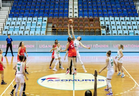 Liga Națională de Baschet Feminin continuă cu o nouă etapă