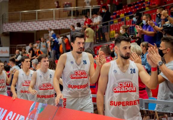 CSM CSU Oradea debutează în noua ediție a FIBA Europe Cup