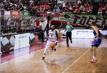 Marius Ciulin, prezent din nou la un meci din Basketball Champions League