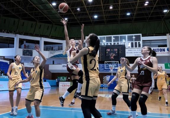 Florina Stănici Diaconu, 46 de puncte în victoria Rapidului la Târgu Secuiesc