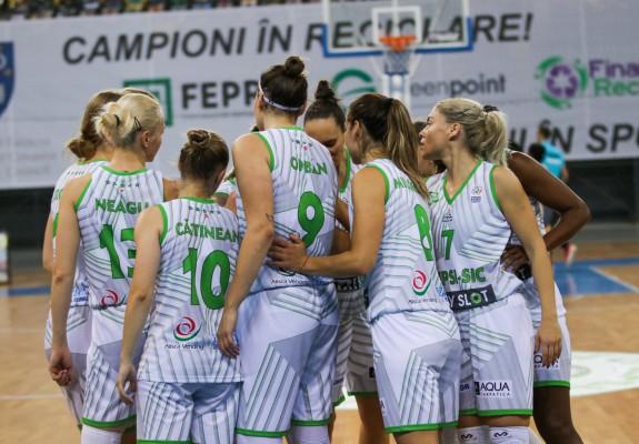 Rezultatele etapei cu numărul trei din Liga Națională de Baschet Feminin