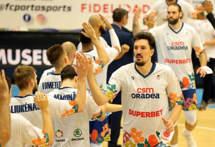 CSM Oradea câștigă la revenirea în Arena Antonio Alexe