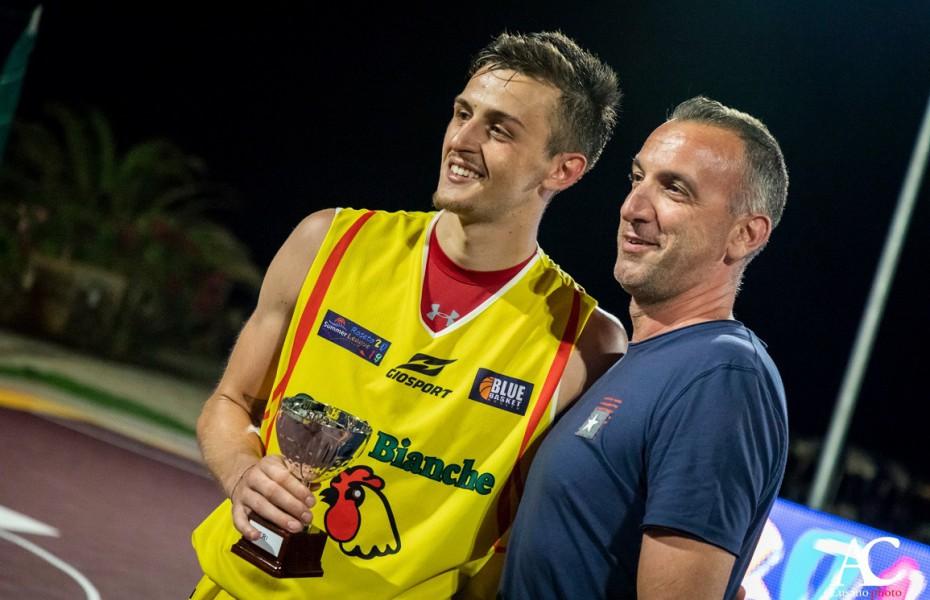 Amedeo Casale, MVP-ul turneului Roseto Summer League