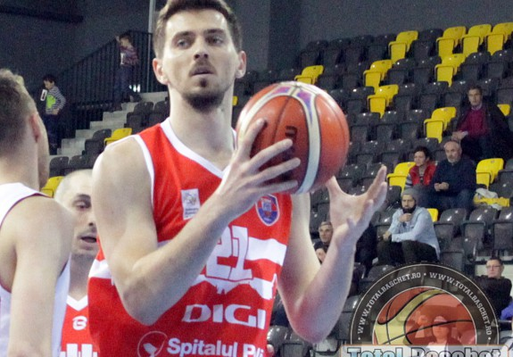 Bogdan Țîbîrna a semnat cu SCM U Craiova