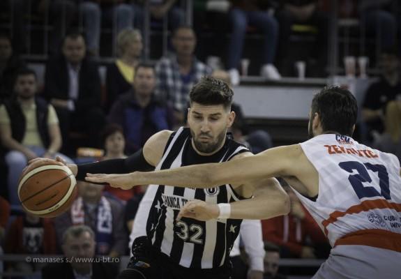 Nandor Kuti și-a prelungit înțelegerea cu U-BT Cluj-Napoca