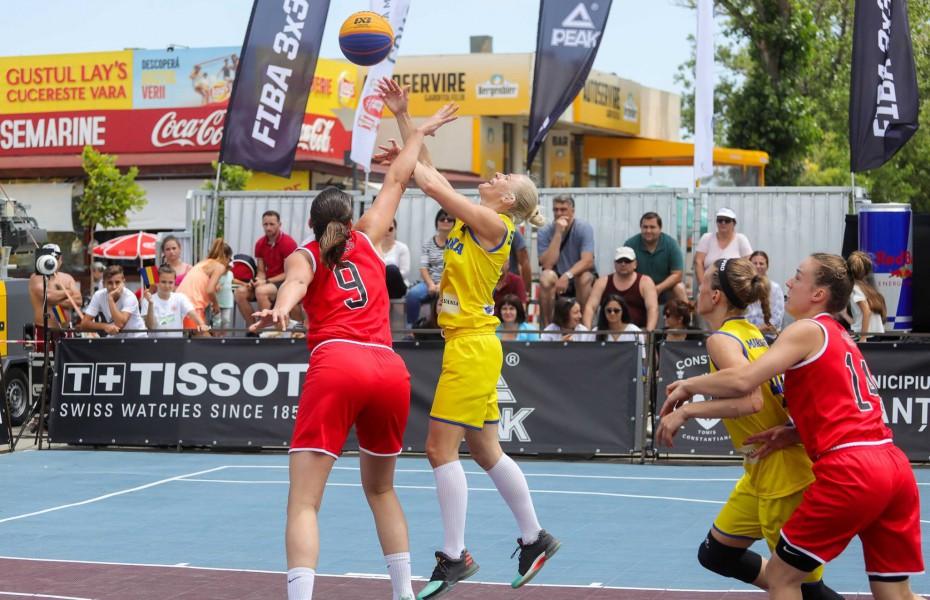 Naționalele României luptă la Constanța pentru calificarea la FIBA 3x3 Europe Cup
