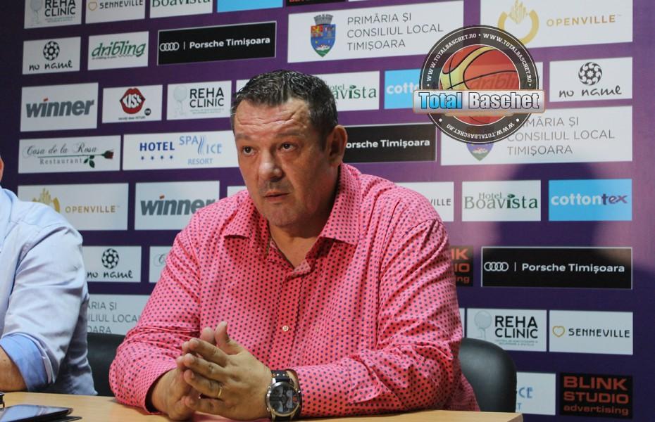 """Dragan Petricevic: """"Pentru mine Timișoara mereu a fost un club și un oraș la care vreau să mă întorc"""""""