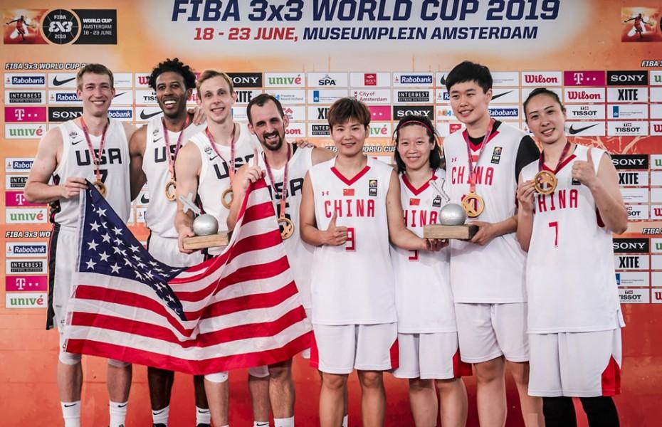 Statele Unite și China, în premieră campioane la FIBA 3x3 World Cup