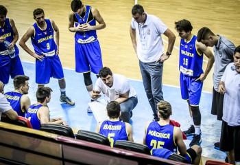 Naționala masculină U18 a început pregătirile pentru Campionatul European de la Oradea