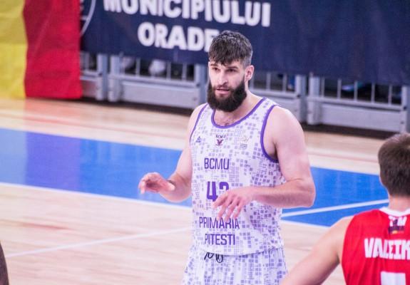 SURSE. Maksim Sturanovic rămâne pentru încă un sezon la BCM U Pitești