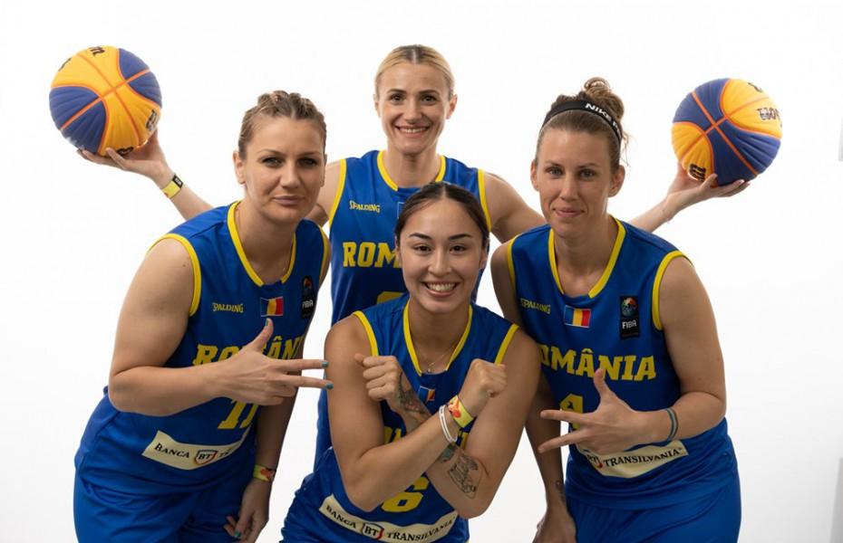 Început în forță pentru România la FIBA 3x3 World Cup