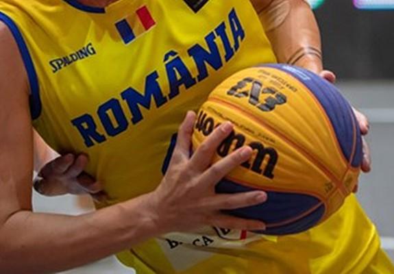 România, pe locurile 4 și 14 la turneul de 3x3 de la Voiron