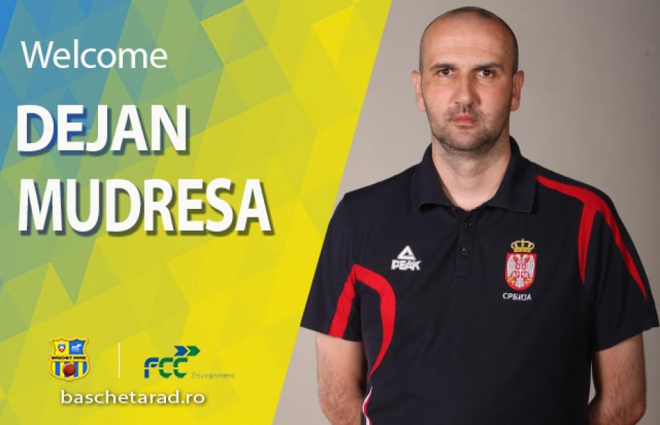 """Dejan Mudreša: """"Într-un club mare există așteptări mari. Vom face tot posibilul pentru a face o echipă bună"""""""