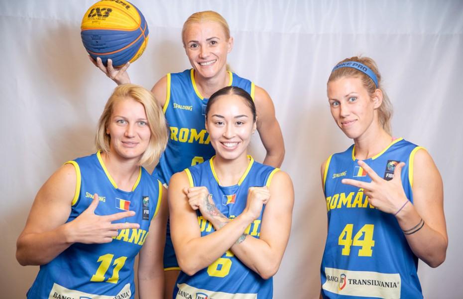 Două echipe de 3x3 ale României vor participa la un turneu din Franța în această săptămână