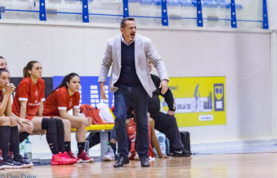 CSM Satu Mare a rămas fără antrenorul Maikel López