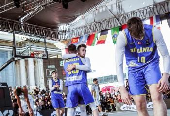 România U18 a pierdut în sferturile World Cup 3x3 din Mongolia