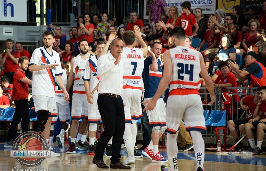 CSM CSU Oradea își apără titlul de campioană  în Liga Națională de Baschet Masculin