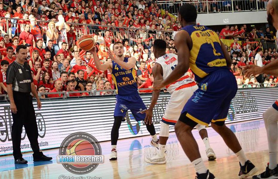 Lucas Tohătan, în fața unei noi prestații notabile în finala LNBM