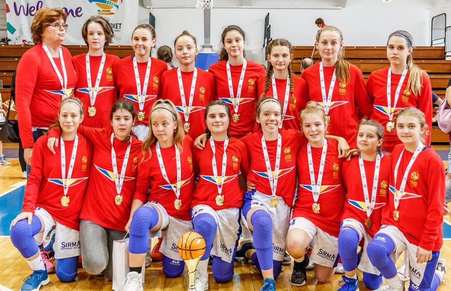 CS Olimpia București, campioană la U14 - Feminin