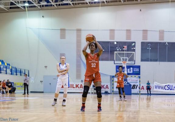 Brittany Denson continuă alături de CSM Satu Mare și în sezonul 2019-2020