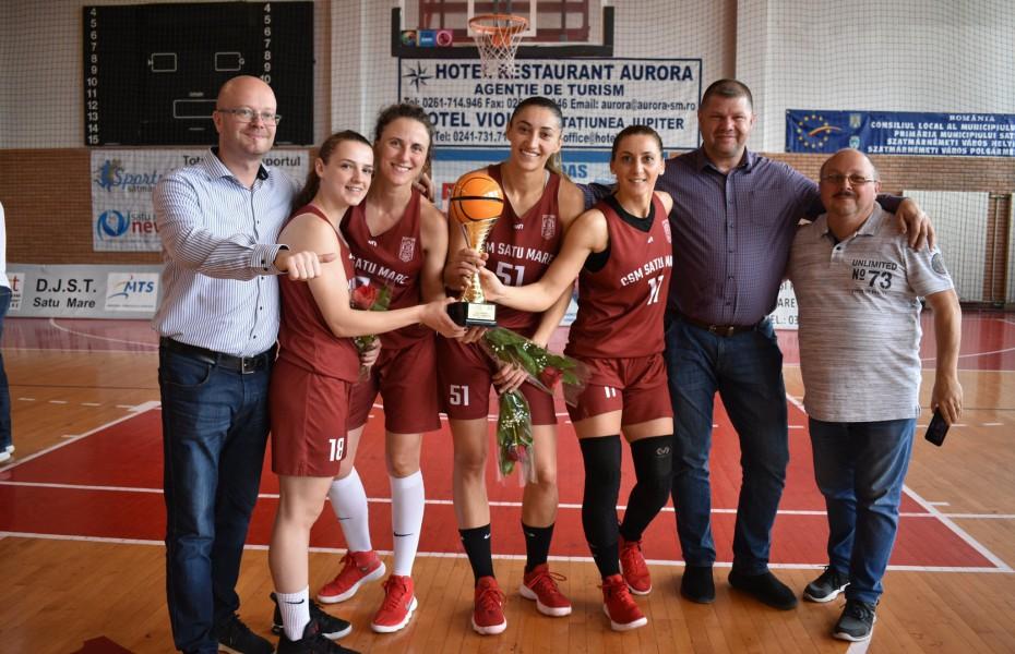 CSM Satu Mare a câștigat prima Cupă a României 3x3 feminin