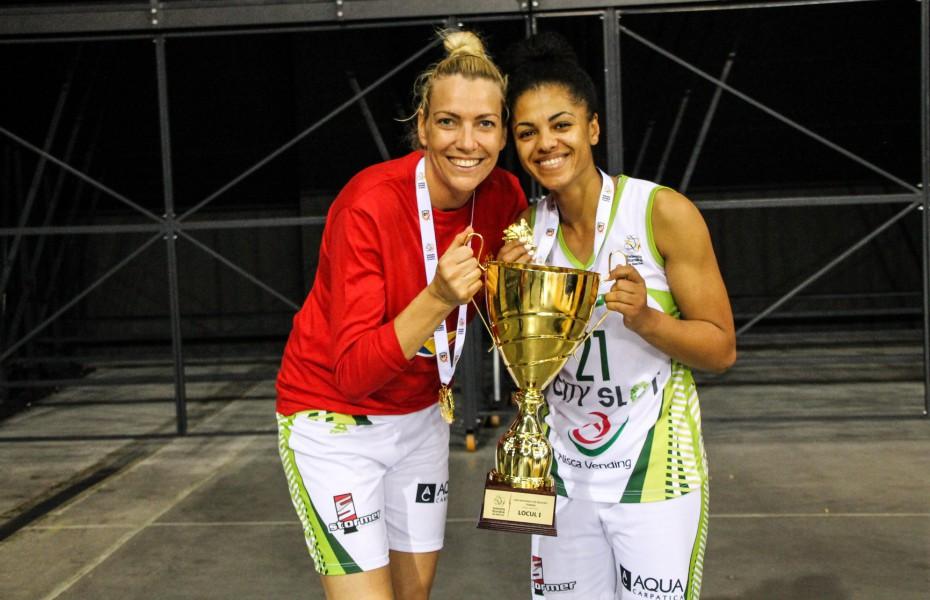 Annemarie Godri Părău a ajuns la 8 titluri de campioană a României, al 4-lea la rând cu Sepsi SIC