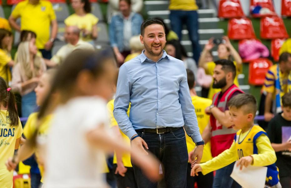 Ionuț Georgescu, prima reacție după ce a fost suspendat trei meciuri de către Comisia de Disciplină