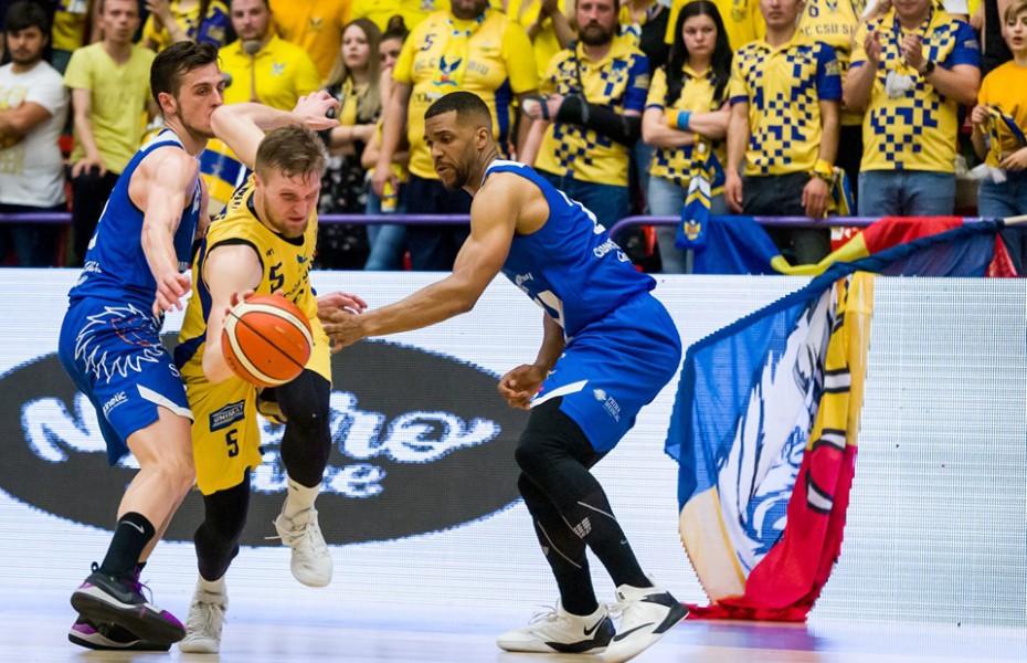 BC CSU Sibiu este în finala Ligii Naționale de Baschet Masculin
