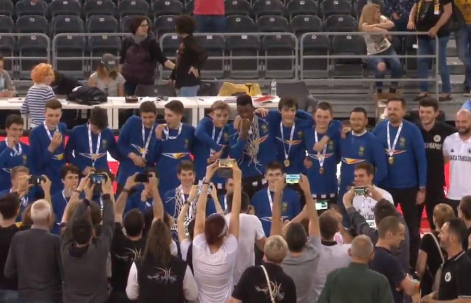 Turneul Final U16M: U-BT Cluj, campioană după ce a câștigat finala în fața Științei București