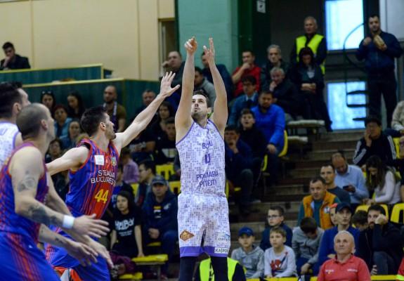 Mladen Jeremic, de neoprit din afara semicercului în meciul decisiv contra CSA Steaua