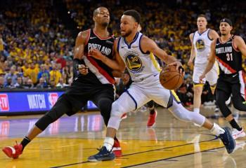 NBA: Golden State Warriors se impune în primul meci al finalei de conferință