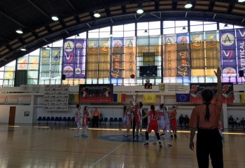 Final echilibrat în cadrul turneului final U16 feminin din Sala Agronomia București