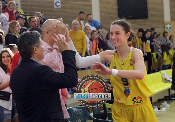 """Marta Fodor: """"I-am și zis la Branki la jumătatea meciului că o să câștigăm și pentru ea"""""""