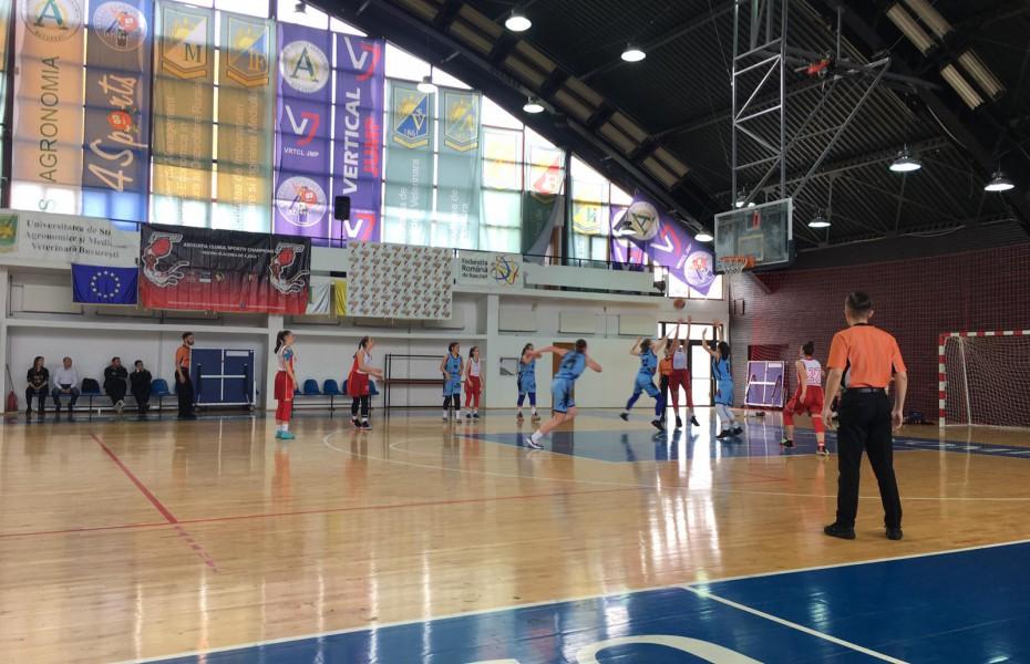 Sala Agronomia București găzduiește în această săptămână turneul Grupei Valorice A U16