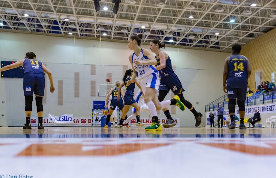 Olimpia CSU Brașov și FCC ICIM Arad încep lupta pentru bronz, câștigat de alb-albastre în ultimii doi ani