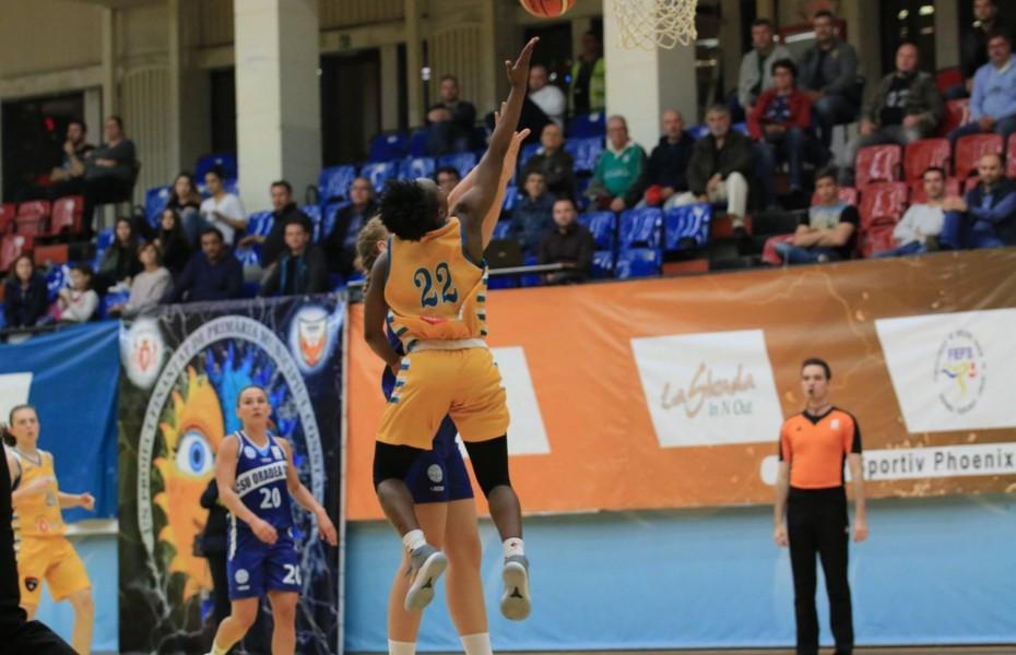 Phoenix Știința Constanța și CSU CSM Oradea joacă în zile consecutive primele două jocuri pentru locul 7