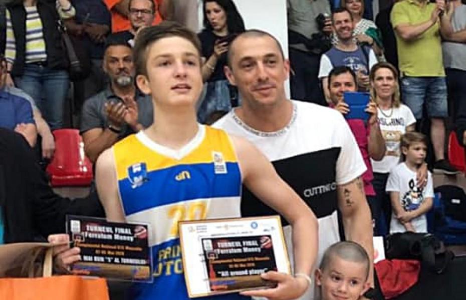 U15 masculin – MVP: Nicholas Son