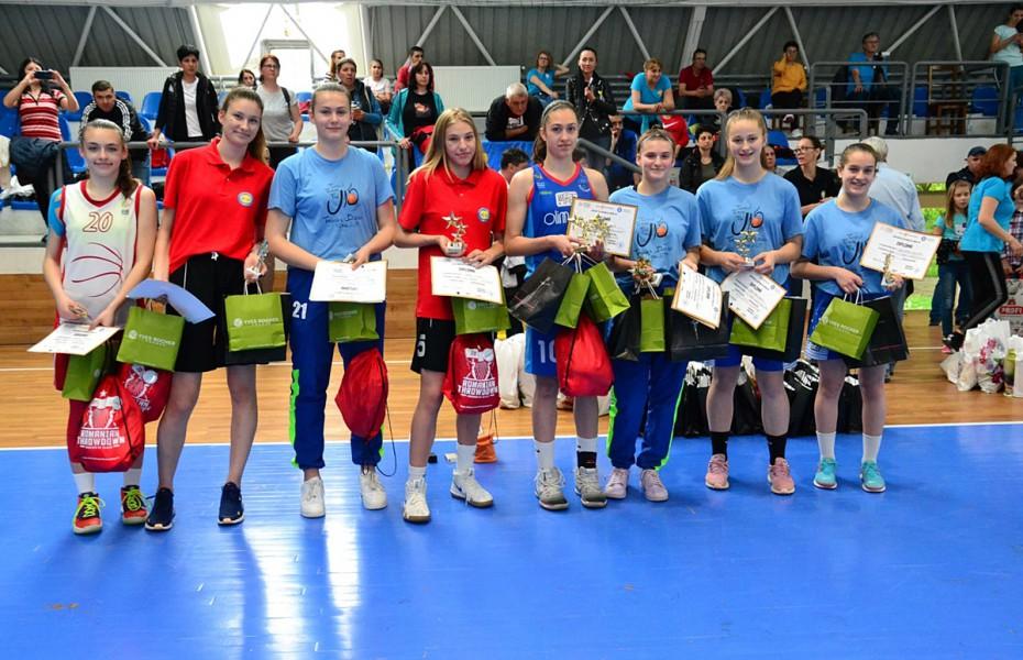 U15 feminin – MVP: Kriszta Kozman, de la medaliata cu bronz
