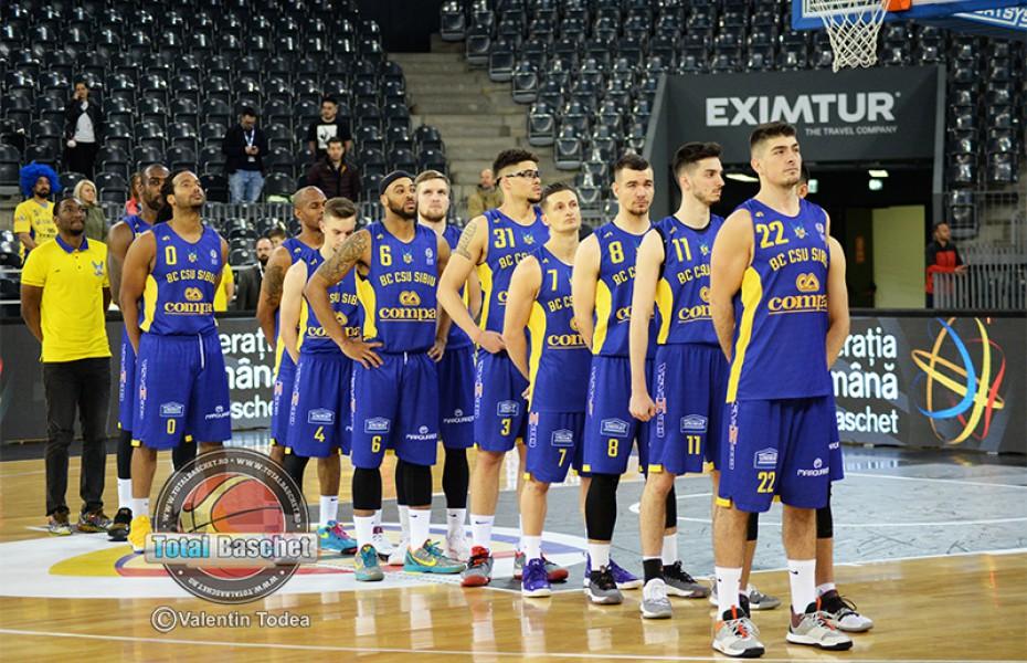 BC CSU Sibiu este din nou în semfinalele Ligii Naționale de Baschet Masculin
