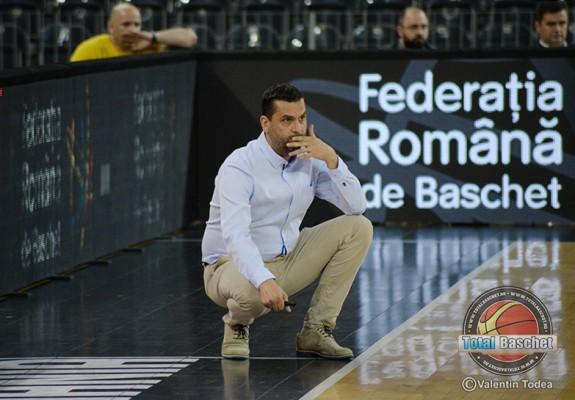 """Dan Fleșeriu: """"Trebuie să jucăm un baschet mult mai bun pentru a câștiga în playoff"""""""