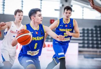 România încheie pe locul 8 europeanul U16 masculin, divizia B